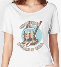 Carefree Bubble Tea Women's Relaxed Fit T-Shirt