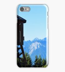 Water Tower in Switzerland iPhone Case/Skin