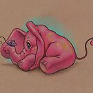Pink Elephant (Face Your Fears) by justteejay