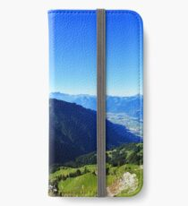 Swiss Mountains iPhone Wallet