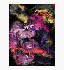 Bright Wool Nebula  Photographic Print