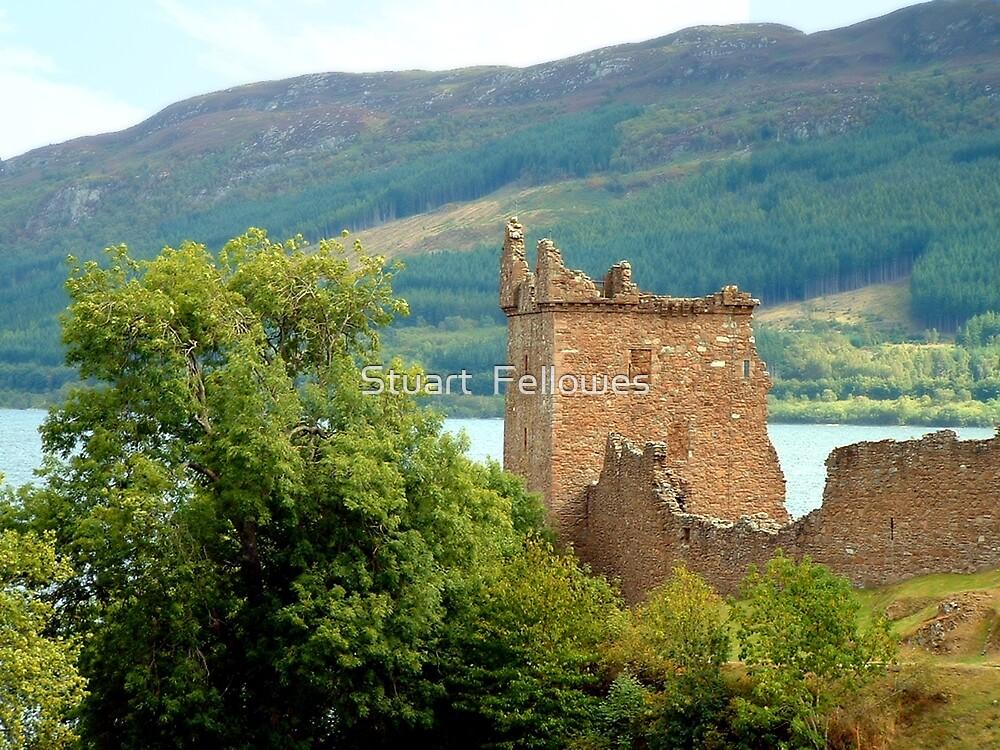 Urquhart Castle by Stuart  Fellowes