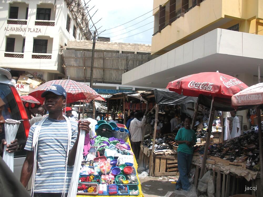 Mombasa Market by jacqi