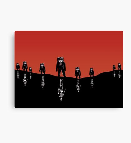 The Rust Coloured Soil: Something Strangely Familiar Canvas Print