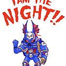 I Am the Night!  by Vanessa Trepanier