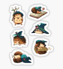 Magic hedgehogs Sticker