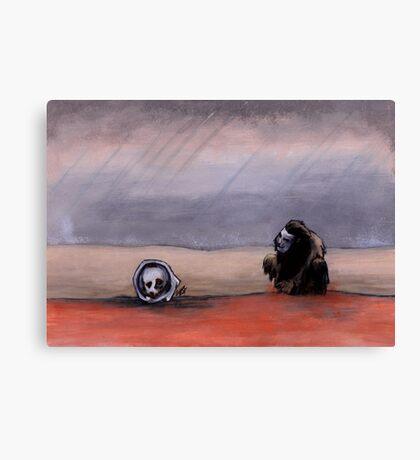 The Rust Coloured Soil: Thus Spoke Zarathustra Canvas Print
