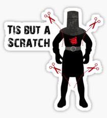 Monty Python - Black Knight - Tis but a scratch! Sticker