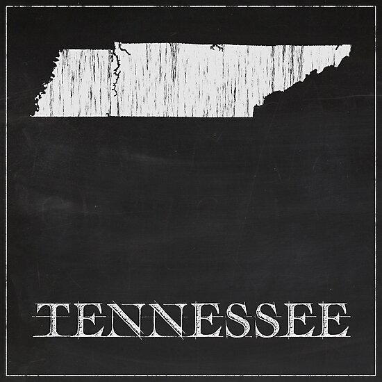 Tennessee - Chalk by FinlayMcNevin