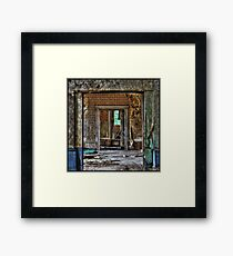 Possible means of escape... Framed Print