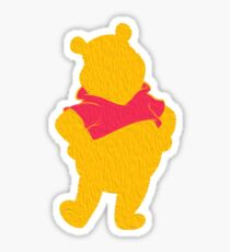 Silly Old Bear Sticker