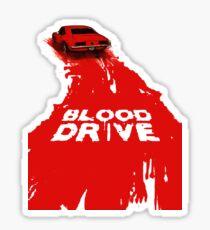 Blood drive3 Sticker