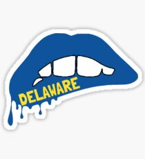 Delaware Lips Sticker