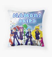Diamond Skies Throw Pillow