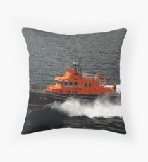 Stromness Lifeboat Throw Pillow
