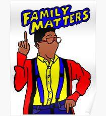 Familienangelegenheiten Poster