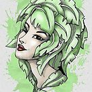 Elf Naughty Weird Portrait by BluedarkArt