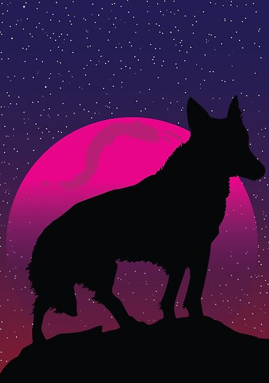 Lonely wolf by ABU Design