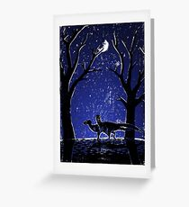 Stars as Eyes Greeting Card