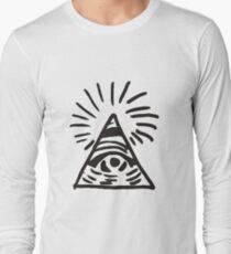 Illuminati Sign - Before the Storm - Life is Strange Long Sleeve T-Shirt