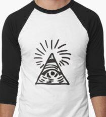 Illuminati Sign - Before the Storm - Life is Strange Men's Baseball ¾ T-Shirt