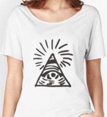 Illuminati Sign - Before the Storm - Life is Strange Women's Relaxed Fit T-Shirt