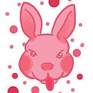Pink Rabbit Tongue (more products) by Genchaii