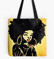 Afro mit den Reifen Tasche