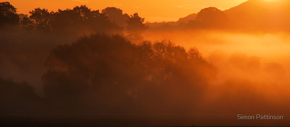 Misty Sunrise by Simon Pattinson