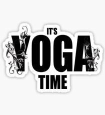 Yoga Time Sticker