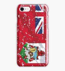 Bermuda Grunge Vintage Flag iPhone Case/Skin