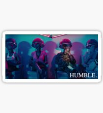 HUMBLE. Hair Salon with Moonlight Colours Distance Sticker