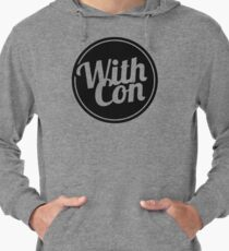 With Confidence Band Logo Lightweight Hoodie