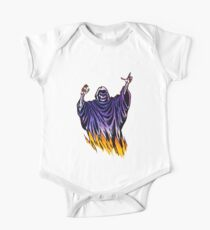 Flaming Ghost One Piece - Short Sleeve