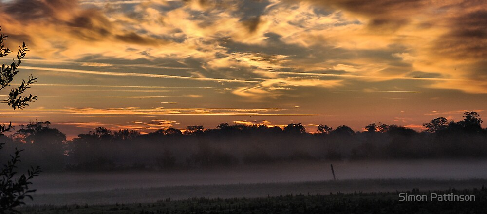 Atcham Dawn by Simon Pattinson