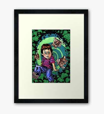 Don't Ask, Because I Don't Have an Answer Framed Print