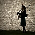 the Lone Piper by Lisa  Kenny