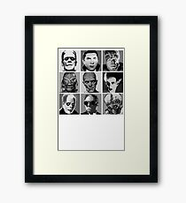Universal Warhol Black&White Framed Print