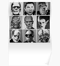 Universal Warhol Black&White Poster