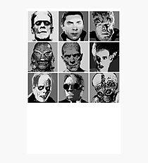 Universal Warhol Black&White Photographic Print