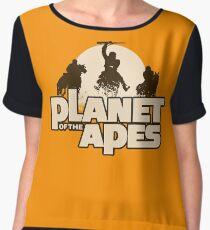 Apes on Horseback Women's Chiffon Top