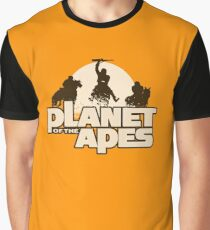 Apes on Horseback Graphic T-Shirt