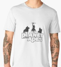 Apes on Horseback Men's Premium T-Shirt