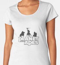 Apes on Horseback Women's Premium T-Shirt