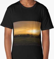 Golden sunset  Long T-Shirt
