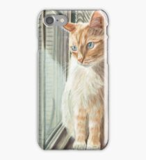 Looking Out II Pastel iPhone Case/Skin