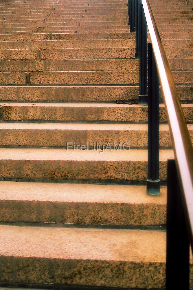 Plaza Steps by FireLilyAMG