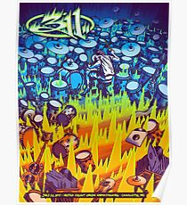 311 SUMMER POSTER, JULY 26 2017, METRO CREDIT UNION AMPHITHEATRE. CHARLOTTE, NC Poster