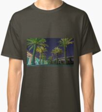 PALM TREES AT NIGHT Classic T-Shirt