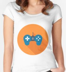 Gamepad Women's Fitted Scoop T-Shirt